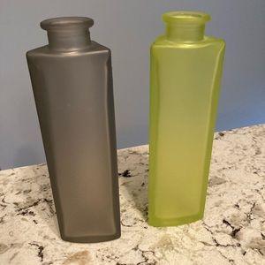 IKEA Twin Vase Set